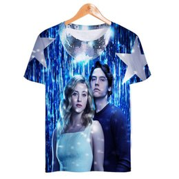 jones t shirts Coupons - USA Hot TV Show riverdale south side serpents 3D T Shirt Men Poleras Hombre Jughead Jones Short Sleeve Hip Hop Tee Shirt Homme