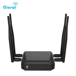 Wholesale wireless router sim card slot - Router 3G 4G WiFi Modem With SIM Card Slot English Version 2.4G 5GHz 128MB Memory LTE OpenWrt Wireless Routers