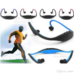 Wholesale speakers for stereo - S9 Wireless Headphone Stereo Headset Sports Bluetooth Speaker Neckband Earphone Bluetooth 4.0 With Retail Package