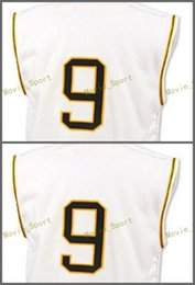 Wholesale Bills Throwback Jersey - Pittsburgh Pirates 9 Bill Mazeroski Baseball Jersey 1960 Cooperstown Throwback Cream White Cool Base Pullover Retro Jerseys
