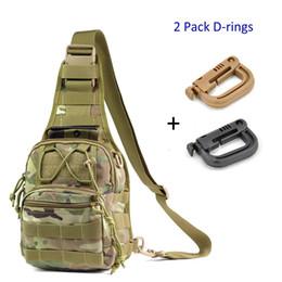 Canada Sac à dos de sac à bandoulière unisexe 1000D en nylon WaterproofDuable 11L EDC Sling Day sac à dos avec 2 pcs D-Ring pour le cyclisme Offre