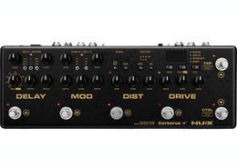 Câble pédales d'effets en Ligne-Retard de la pédale d'effet de guitare multi NUX Cerberus Effets de modulation de distorsion Qverdrive Routage intérieur Méthode de câble IR Loader 4