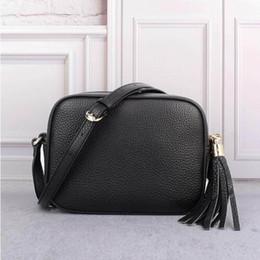 a3b90df99d7 Female leather handbag luxury brand bags tassel mini crossbody bags High  quality soho disco Genuine leather shoulder bag