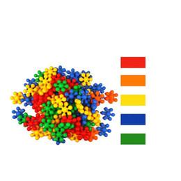 Wholesale shape fun - Plum Shape Building Blocks Assembling Children Fun Toys For Kids Early Education Originality DIY Initiation Puzzle Toy New Arrive 11wwa Z