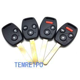 Wholesale Honda Fob Case - Replacement Remote Control Key Case for Honda Civic Fit Jade City Accord CRV CRV Car Key Shell Fob