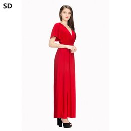 5fbb6b9982 SD summer Women dresses plus size Evening Party Beach Dress Sundress  Vestidos de festa New Arrivals Maxi Robe Drop Shipping W70