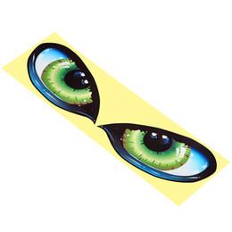 Зеркало заднего вида со стороны автомобиля онлайн-Глаз Автомобиля Стикер Зеркало Заднего вида Наклейка Творческий Авто Наклейки и Отличительные Знаки для Авто Side Fender 3D Стерео Светоотражающий Стайлинга Автомобилей
