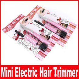 Wholesale Legs Shaver - Powered By Battery Mini Ladies Electric Epilator Body Bikini Hair Trimmer Eyebrow Leg Hair Shaver for Women