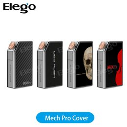 Peças de cigarros eletrônicos on-line-VENDAS MUITO! GeekVape MECH Pro Placas de Cobertura Substituível para MECH Pro 4 MECH Pro Mod Cigarros Eletrônicos Cap Assembléia partes 100% Autêntico