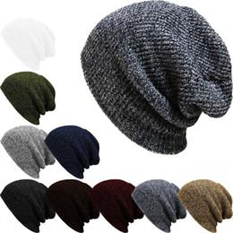 2018 neue Mützen Wintermütze Für Männer Strickmütze Frauen Winter Hüte Für Frauen  Männer Stricken Caps Blank Casual Wolle Warme Flache Mütze Beanie wolle ... f473e447df