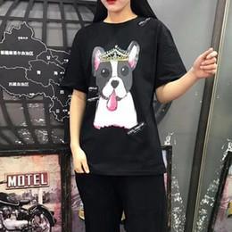 roupas para cães machos Desconto T-shirt dos homens das mulheres crown cães gola muscular t-shirt das mulheres marca-clothing camiseta camisa masculina de qualidade superior macio