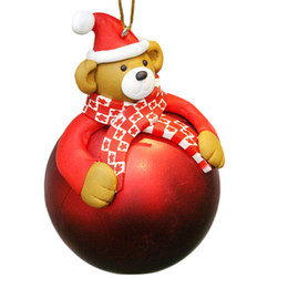 black bear decor coupons christmas tree hanging ball bear santa claus snowman festival xmas decor