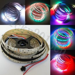 Wholesale magic dc - 5M WS2811 5050 RGB LED Pixel Strip Light 150LEDs Magic Dream Color Chasing Addressable IP65 Waterproof Epoxy Resin 12V 30LEDs m