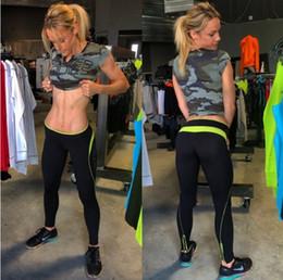 2019 camicia di compressione Muscoli Muscoli Fratelli 2018 nuova estate velocità asciutta traspirante T-shirt femminile fitness sport in esecuzione yoga manica corta.
