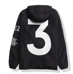 2019 chaqueta de viaje yeezus YEEZUS Chaqueta Hombres KANYE WEST Hip Hop Cazadora MA1 Pilot Hombre Chaquetas Tour Jaqueta Masculina Season 3 Coat USA tamaño rebajas chaqueta de viaje yeezus