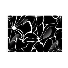 Adornos de linea online-Línea de la cintura Cuadrado largo 3D Adornos de cristal tridimensional Espejo Pegatinas de pared Acrílico Espejo Pegatina decorativa
