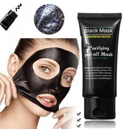 Máscara de membrana negra online-Mujeres Moda Maquillaje Shills Mascarillas exfoliantes Limpieza profunda Máscara negra 50ML Máscara facial de espinilla Máscara de membrana de limpieza
