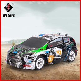 Wholesale Rc Rally - NEW 2018 Wltoys K989 1 28 MINI 4WD Off Road RC Brushed Rally Car RTR Alloy Chassis Structure