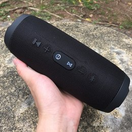 Wholesale bluetooth design - DZOO New Design Charge3 Portable Bluetooth Speaker Wirelss Outdoor VS JBL Xtreme Speaker 10W Super Bass Speaker as Gift