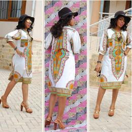 248bb4c603 3XL Plus Size Wholesale African Clothes Dashiki Dress for Women Casual Summer  Hippie Print causal dress Dashiki Fabric Femme Boho Robe Femme
