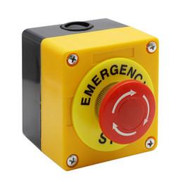 Drucktastenlampe online-Rote Lampe Selbsthemmend Not-Aus Pilz-Schalter Push Button Station 660V