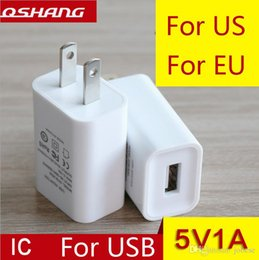Wholesale Power States - Factory direct usb charger 5V1A charging head European regulations the United States regulations power adapter mobile phone charger wholesal