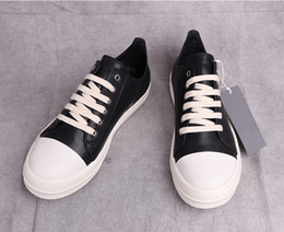 Wholesale Heavy Cotton Canvas Fabric - High quality ro male heavy-bottomed leather sports and leisure shoes women and men first layer of leather shoes hip-hop couple casual