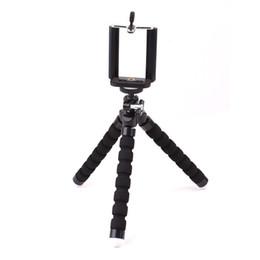 2019 abrazaderas de la cámara montajes de clip Mini abrazadera Adaptador de cámara Soporte para trípode Clip de soporte para teléfono Soporte Autofotos para trípode monopie 1-4 pulgadas abrazaderas de la cámara montajes de clip baratos