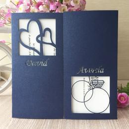 2019 свадебные платья Новый уникальный дизайн лазерная резка Перл бумаги полые индивидуальные имя дата свадебные приглашения участие свадебные приглашения