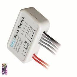 2020 piccolo interruttore di alimentazione LTECH LT-424-GC Gruppo DALI Push-Switch alimentato da DALI Bus 0-15 Group Mode PC plastico di piccole dimensioni piccolo interruttore di alimentazione economici