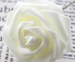 2019 accessori per fiori di schiuma Simulazione della fascia 8CM Sacchetti di fiore della schiuma di rosa del PE che tengono gli accessori del contenitore di caramella di nozze del fiore L596 sconti accessori per fiori di schiuma