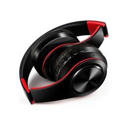 Wholesale fl mix - Classic Universal Bluetooth Headset Headset Bluetooth Headset For iphone Smasung  Foldable TF Card HI-Fl CD Heavy bass Wireless Headset