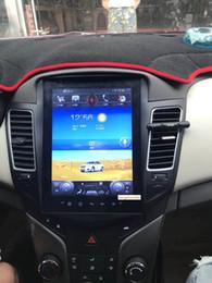 Chevrolet navegación con pantalla táctil online-10.4 pulgadas con Android6.0 radio de coche multimedia de navegación de DVD de DVD para chevrolet cruze 2009 2010 2011 2012 2013 2014 con radio / gps / 4G