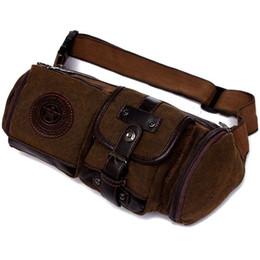 Nouvelle mode imperméable à l'eau toile taille sac oreiller Casual voyage hommes sac moto Fanny taille Pack bonne qualité ? partir de fabricateur