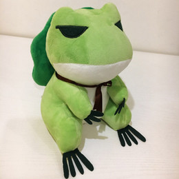 green day dolls Coupons - Travel Frog Plush Toy Kids Toys Fashion Stuffed Animals Designer Soft Doll Suitable As Gift For Kid Girlfriend Baby Girls Boys Children Toys