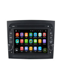 Wholesale Fiat Doblo - car radio player FIAT DOBLO 2016 Android 7.1 Car DVD player gps audio multimedia auto stereo support DVR WIFI BT with Steering Wheel Control