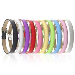 Letras deslizantes para pulseiras on-line-8mm pulseiras de pulseira de superfície metálica (10 peças / lote) DIY acessório ajuste deslizante letras, encantos de slides, grânulos
