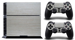 Wholesale Sticker Stripe - Silver Stripe T377 DECAL SKIN PROTECTIVE STICKER for SONY PS4 CONSOLE CONTROLLER