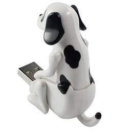 Argentina Nueva Mini Divertido Lindo USB Humping Spot Dog Toy USB Gadgets para PC Portátil de Regalo Suministro