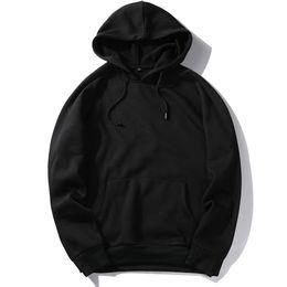 2019 vestiti da hip hop usa TAGLIA USA Moda Poliestere Colore Hooides Abiti spessi da uomo Felpe Uomo Hip Hop Streetwear Solido pile Felpa con cappuccio Abbigliamento uomo vestiti da hip hop usa economici