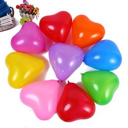 Любовь Сердце латексный шар 100шт надувные свадебные украшения романтический 1.5 г День Святого Валентина День Рождения воздушный шар поставки от Поставщики воздушные шары с днем рождения