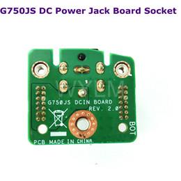2019 jacks dc TARJETA DCIN G750JS Para Asus ROG G750JS G750JS G750JW G750JZ G750JM DC Power Jack Board Socket envío gratis jacks dc baratos