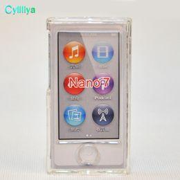 New Frost Clear Bianco TPU Silicone Gel Gomma Morbida Custodia Cover per Apple iPod Nano 7th Gen 7 7 G casi fundas coque da gel diamante fornitori