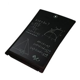 "Wholesale Mini Drawing Board - 8.5"" Writing Tablet LCD Tablet Drawing Pen Mini Writing Message Board 8.5 inch Handwriting Pads as Whiteboard Bulletin Board Memo Board"