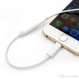 2019 hdmi hdtv vga rca kabel Neue Mode Kopfhörer Jack Adapter Converter Kabel Beleuchtung zu 3,5mm Audio Aux Stecker Adapter Kabel für iPhone7 iPhone 7 Plus