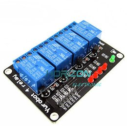 module dsp Promo Codes - 12V Four 4 Channel Relay Module For DSP ARM MSP430