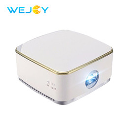 Wholesale Pocket Projector Battery - Wejoy Mini Pocket Portable LED Projector DL-S8+ Android 6.1 System with Wifi Pico Projectors DLP Beamer WiFi BT 4200mAh Battery