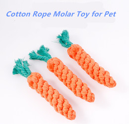 Wholesale Cheap Toys Free Shipping - Pet Supplies 2018 New Yellow Dog Chew Toy Cutton Rope Made Molar Long Toy For All dogs Free Shipping With Cheap Price Good Quality