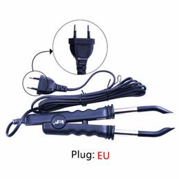Strumenti di fusione di cheratina online-Spina a calore costante Fusion Hair Extension Extension Iron Keratin Bonding Tools Connettore di fusione a fusione EU / AU / US / UK Plug