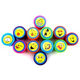 kid stamps NZ - Cartoon Smiling Face Stamp Kids Party Favors Event Supplies for Birthday Party Toys Christmas Gift